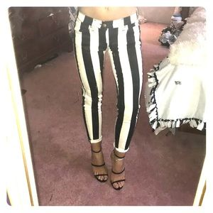 Black and White Jeans!!!!!